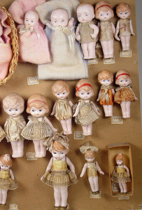 Hertwig Doll Factory Sample Card